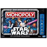 Monopoly - Star Wars 40th Anniversary Special Edition - Family Board Game - Ages 8+