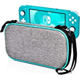 Carry Case for Nintendo Switch Lite - LOGROTATE Portable Hard Shell Travel Carrying Bag, Switch Lite Waterproof Case Cover wi