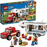 レゴ(LEGO) シティ キャンプバンとピックアップトラック 60182 ブロック おもちゃ 男の子