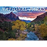"""National Parks 2022 Wall Calendar - featuring Zion, Olympic, Arches, Rocky Mountain, Iceland, and more - 13.5"""" x 9.75"""""""