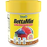 Tetra Betta Small Pellets 1.02 Ounce, Complete Nutrition Plus Color Boost