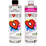 ArtResin - Epoxy Resin - Clear - Non-Toxic - 32 oz (16 oz Resin + 16 oz Hardener) (946 ml)