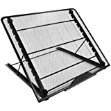 Mlife Large Size Light Pad Stand - Adjustable Light Box Laptop Stand, 12 Angles Non-Skidding Metal Holder for A3 B4 A4 LED Tr