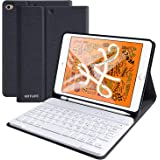 iPad mini5/ mini4キーボードケース mini 4/5対応キーボードカバー 着脱式キーボードスタンド機能付き アップルペンシル収納可能 分離式 アイパッド MINI 4/MINI 5 7.9インチ ケース プロ キーボード付き ペンホル