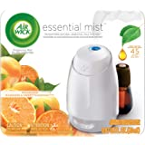 Air Wick Essential Oils Diffuser Mist Starter Kit (Vaporizer for essential oil + 1 Refill), Mandarin & Sweet Tangerine, Air F