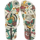 Ipanema Women's Sem Igual Tattoo FEM Flip-Flop