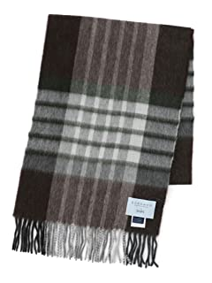 Wool Angora Scarf 118-36-0035: Brown
