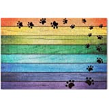 "Darkyazi 23.6"" x 35.4"" Colorful Doormats Entrance Front Door Rug Funny Outdoors/Indoor/Bathroom/Kitchen/Bedroom/Entryway Floo"