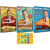 Mister Rogers' Neighborhood: Original PBS TV Series Complete 60 Episodes and Tribute DVD Collection with Bonus Art Card