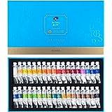 Paul Rubens Caroline Watercolor Tube, 36 Colors x 5ml Tubes Watercolor Paint Set with a Storage Box, Rich Pigments, Prefect P