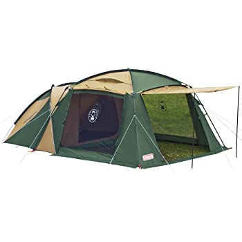 COLEMAN コールマン ラウンドスクリーン2ルームハウス 〔2018SS キャンプ用品 テント タープ 〕 (グリーンベージュ):170T14150J
