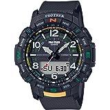 Casio PRTB50-1 Men's Pro Trek Black Strap Bluetooth Watch