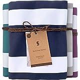 SummerSand Microfiber Beach Towel Sand Free 160x80cm - Odorless Quick Dry Towel for Pool & Surfing - Lightweight Travel Towel