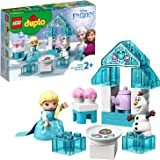 LEGO DUPLO Disney Frozen Toy Featuring Elsa and Olaf's Tea Party 10920 Disney Frozen  Kids and Toddlers