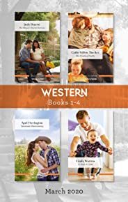 Western Box Set 1-4/The Mayor's Secret Fortune/Her Cowboy Daddy/Tennessee Homecoming/To Save a Child (The Fortunes of Texas:
