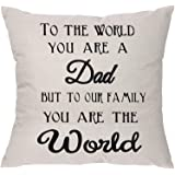 Aeora Pillow Covers Pillowcase for Dad Daddy Father Papa Dad