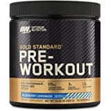 OPTIMUM NUTRITION GOLD STANDARD Pre-Workout with Creatine, Beta-Alanine, and Caffeine for Energy, Keto Friendly, Blueberry Le
