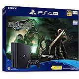 PlayStation 4 Pro FINAL FANTASY VII REMAKE Pack(HDD:1TB)