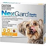 Nexgard, Flea & Tick Monthly Chew, Dog, 2.1-4kgs, 6pk