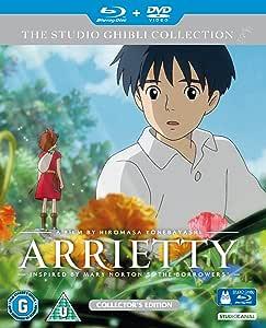 借り暮らしのアリエッティ(英語)Blue ray + DVD / Arrietty (English) [Import]