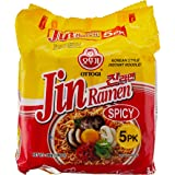 Ottogi Jin Ramen Spicy, 120g (Pack of 5)