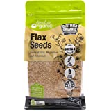 Absolute Organic Organic Flaxseeds 400 g, 400 g, No Flavor Avaialable