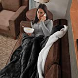EIUE Polyester Sherpa Fleece Bed Blanket,Soft Thick Nap Blanket Quilt for Sofa,Bed,Office and Outdoor Travel,Warm Fluffy Thro