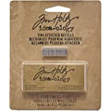 Metal Tiny Attacher Refills by Tim Holtz Idea-ology, Box of 1550 Staples.25 Inches, TH92801