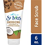 St. Ives Rise & Energize Face Scrub, Coconut & Coffee, 6 oz, Pack of 6