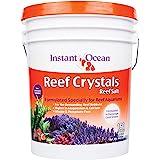 Instant Ocean Reef Crystals Reef Salt For 160 Gallons, Enriched Formulation For aquariums