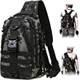 BLISSWILL Upgraded Version Fishing Backpack Storage Bag Outdoor Tackle Bag Large Fishing Tackle Bag Water-Resistant Outdoor S