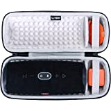 LTGEM Hard Carrying Case for JBL Charge 4/Charge 5 Portable Waterproof Wireless Bluetooth Speaker. Fits USB Cable and Charger