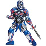 Disguise Optimus Prime Movie Prestige Costume Small (4-6) Blue