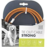 M-PETS 10800199 Tie Out Cable Strong - 1700Lb-4.5M