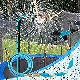 AOJI Trampoline Sprinkler for Outdoor Kids Trampoline Backyard Water Yard Sprinkler Sport Summer Water Toys for Boys Girls (4