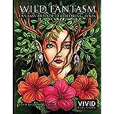 Wild Fantasm - Fantasy Art Adult Coloring Book: 1