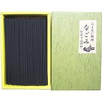 淡路梅薫堂の煙の少ないお線香 せんこう にんき 無添加 日本製 匂いなし線香 けむりの少ない なごみ 135g (1箱…