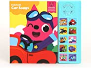 Pinkfong Children'S Car Songs Sound Book, Yellow/Sky Blue, 8.7