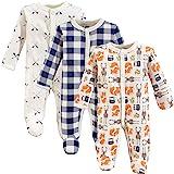 Hudson Baby Baby Preemie Sleep and Play, 3 Pack