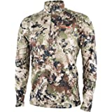 SITKA Gear Men's Core Midweight Zip-T Quick-Dry Odor-Free Long Sleeve Hunting Shirt
