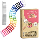 The Thoughtful Brand 50 Dog Hair Bows in Assorted Pairs | Best Value & Quality for Groomers with Innovative Design & Strong R