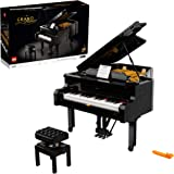 LEGO Ideas Grand Piano 21323 Model Building Kit, Build Your Own Playable Grand Piano, an Exciting DIY Project for The Pianist