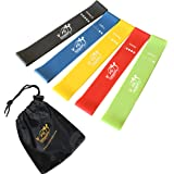Fit Simplify Resistance Loop Exercise Bands for Home Fitness, Stretching, Strength Training, Physical Therapy, Workout Bands,