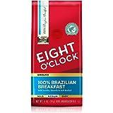 Eight O'Clock Ground Coffee, 100% Brazilian Breakfast, 11 Ounce (Pack of 1)