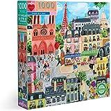 EEBOO Paris in a Day 1000 Piece Puzzle, 1 EA