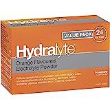 Hydralyte Electrolyte Orange Flavoured Drink Powder, 24 Sachets