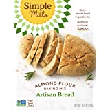 Simple Mills Almond Flour Baking Mix, Gluten Free Artisan Bread Mix, Made with whole foods, (Packaging May Vary), 10.4 Ounce