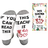 Funny Nurse Socks - If You Can Read This This Nurse is Off Duty Nurse Gift Casual Socks Graduation Gift for Nurses