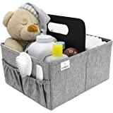 Sorbus Baby Diaper Caddy Organizer | Nursery Storage Bin for Diapers, Wipes & Toys | Portable Car Storage Basket | Changing T