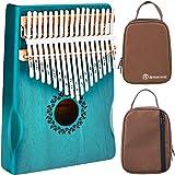 RANMING Kalimba 17 Key Thumb Piano Kalimba Set with Portable Handbag,Music Book and Tune Hammer, Finger Piano Instrument Gift